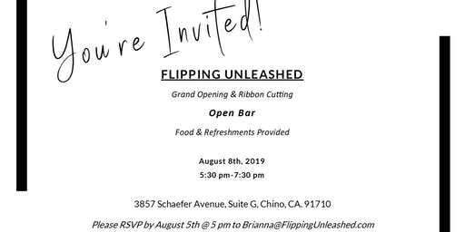 Grand Opening of Flipping Unleashed