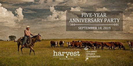 Harvest's Five-Year Anniversary Party tickets