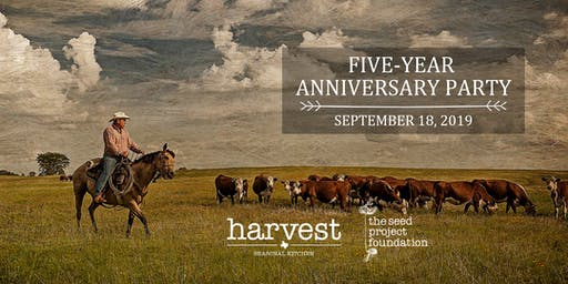 Harvest's Five-Year Anniversary Party