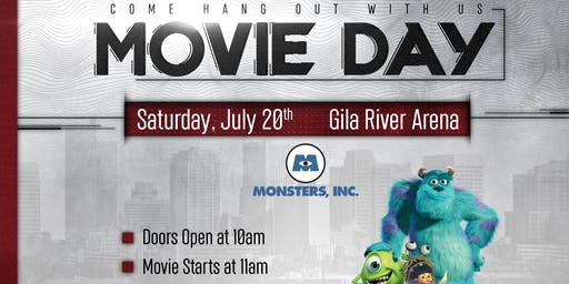 Arizona Coyotes FREE Movie Day – Monsters, Inc.