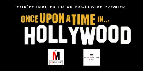 Once upon a Time in Hollywood -  Movie Premiere & Party Sundial tickets