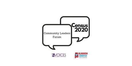 Census 2020 Community Leaders Forum- Tuscaloosa tickets
