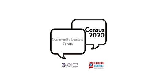 Census 2020 Community Leaders Forum- Tuscaloosa