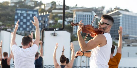 VINYASA & VIOLIN - ROOFTOP YOGA - SUMMER SUNSETS SPECIAL EVENT tickets
