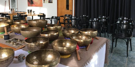 Dégustation de cidres & Concert de bols tibétains par Jimmy Thériault