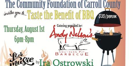 Taste the Benefit of BBQ tickets