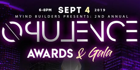 The 2nd Annual Opulence Awards tickets