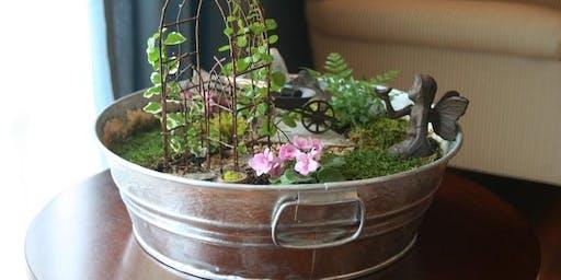 Create Your Own Fairy Garden Workshop
