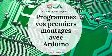 Montreal Inclusive - Atelier #5 : Programmez vos premiers montages avec Arduino tickets