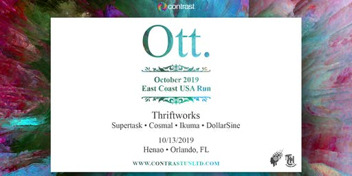 The Harmonic Connection presents: Ott, Thriftworks & Supertask(Orlando,FL)