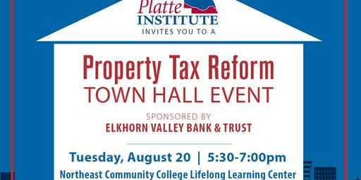 Property Tax Reform Town Hall - Norfolk