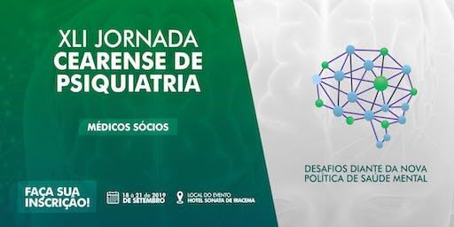 XLI Jornada Cearense de Psiquiatria - Médicos Sócios não Adimplentes