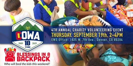 4th Annual Colorado Wireless Association Volunteering Give-Back Event tickets