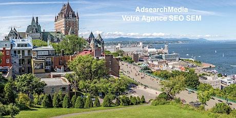 Formation SEO Référencement Naturel Niveau 1 ou 2 à Québec billets
