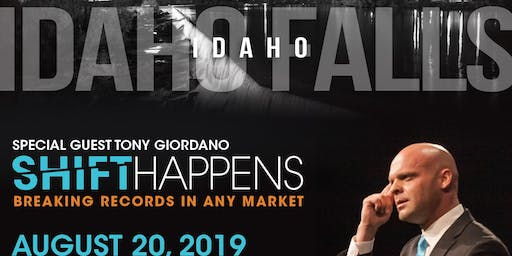 Tony Giordano - SHIFT Happens - Breaking Records in a Down Market