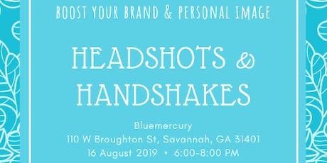 Headshots & Handshakes tickets
