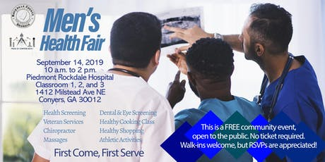 Men's Health Fair tickets
