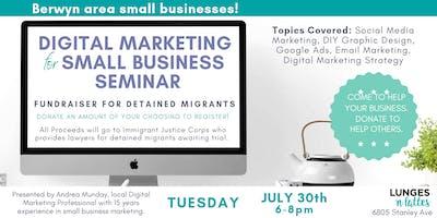 Digital Marketing for Small Business Seminar - Fundraiser