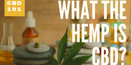 What the hemp is CBD? Hosted by American Shaman of Plano tickets