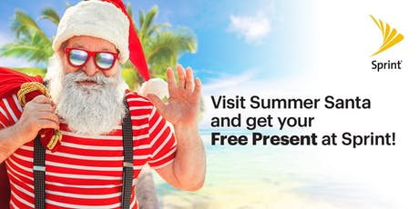 Free Presents & Pictures with Santa for Christmas in July! tickets