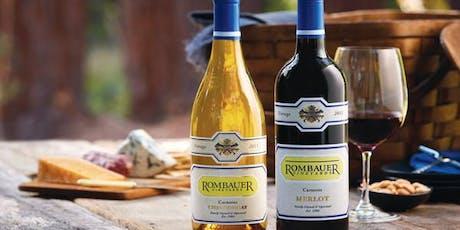 Rombauer Vineyards Wine Dinner tickets