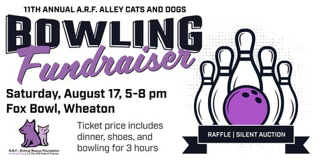 Bowling Fundraiser for A.R.F.-Animal Rescue Foundation tickets