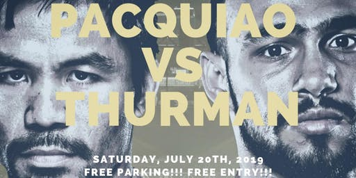 #ExhaleSaturdays @ Time To Exhale Cigar & Hookah Lounge Pacquiao Vs Thurman