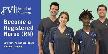 Become a Registered Nurse tickets