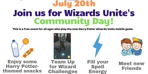 Harry Potter Wizards Unite Community Day