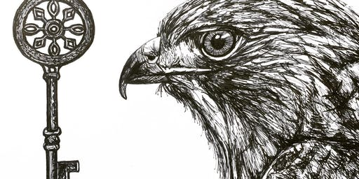 Feathers and Keys-animal art with Becky MacPherson