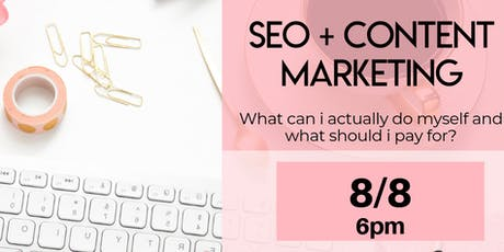 DIY: SEO and Content Marketing tickets