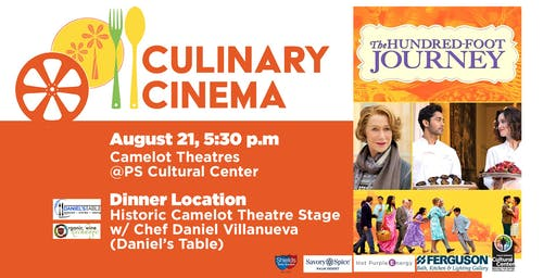 Culinary Cinema: THE HUNDRED FOOT JOURNEY w/ Chef Daniel Villanueva