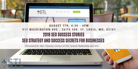 SEO Success Stories - SEO Strategy and Success Secrets for Businesses tickets