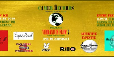 "Camer Records Vibranium Flow ""Show for the gods"""
