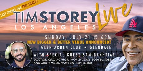 Tim Storey LIVE • Los Angeles, CA tickets