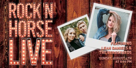 Rock 'N' Horse Live  Featuring Leah Daniels and The Beresfords tickets