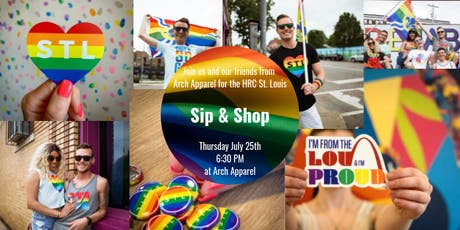 HRC St. Louis Sip & Shop  tickets