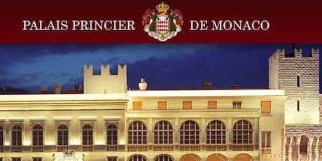 PALAIS PRINCIER MONACO CONCERT Orchestre Philarmonique dans la COUR D'HONNEUR et DINER billets