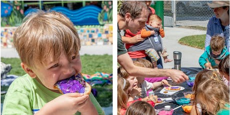Shabbat + Challah Painting in the Park for Young Children tickets