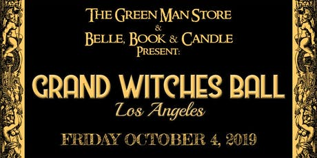 Grand Witches Ball Los Angeles tickets