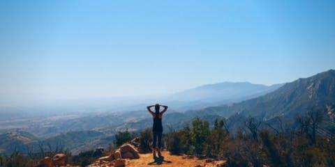 MindTravel SilentHike in Santa Barbara Up Inspiration Point