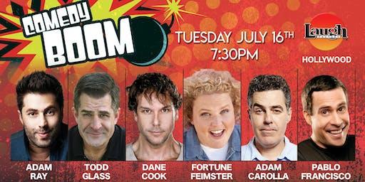 Dane Cook, Adam Carolla, Fortune Feimster, and more - Comedy Boom!