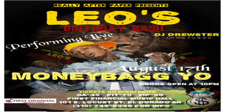 Moneybagg Yo performing Live. Leo's Birthday Bash. tickets