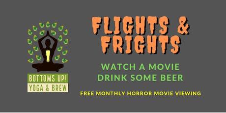 Flights & Frights - [Bottoms Up! Yoga & Brew] tickets