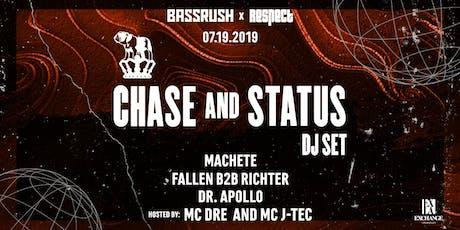 Chase & Status (DJ Set) tickets