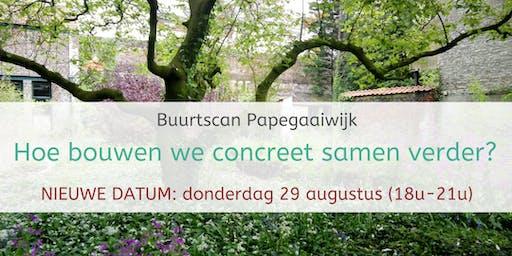 Buurtscan Papegaaiwijk - 3de sessie: Hoe bouwen we concreet samen verder?