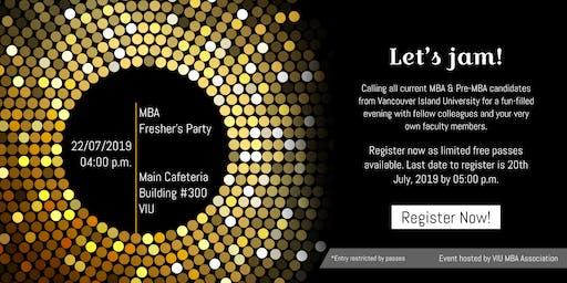 VIU MBA Fresher's Party 2019