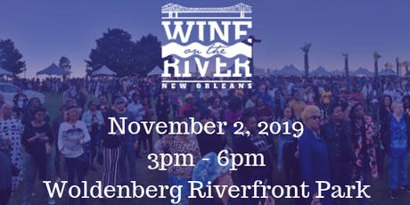 Wine on the River New Orleans 2019 tickets
