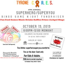 TYRONE C.A.R.E.S. 4th Annual Superhero/SuperYou BINGO GAME NIGHT FUNDRAISER tickets