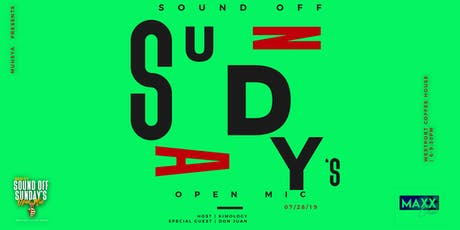 Sound Off Sunday's tickets